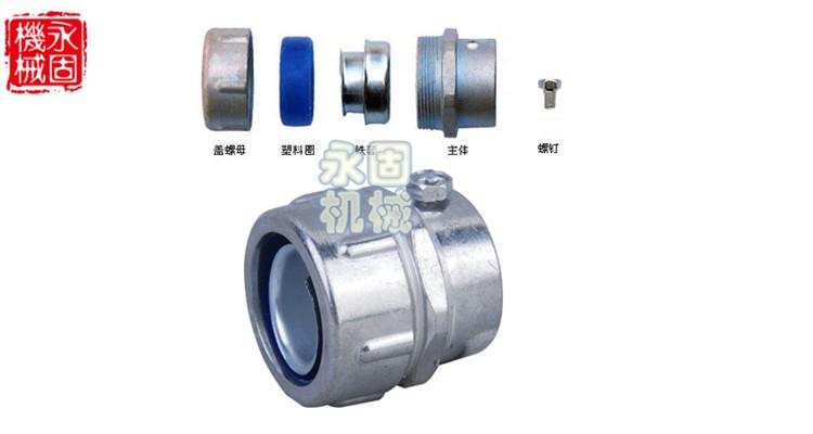 DKJ卡套式包塑软管接头产品图片