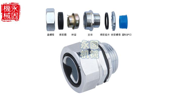 DPJ端式金属软管接头产品图片