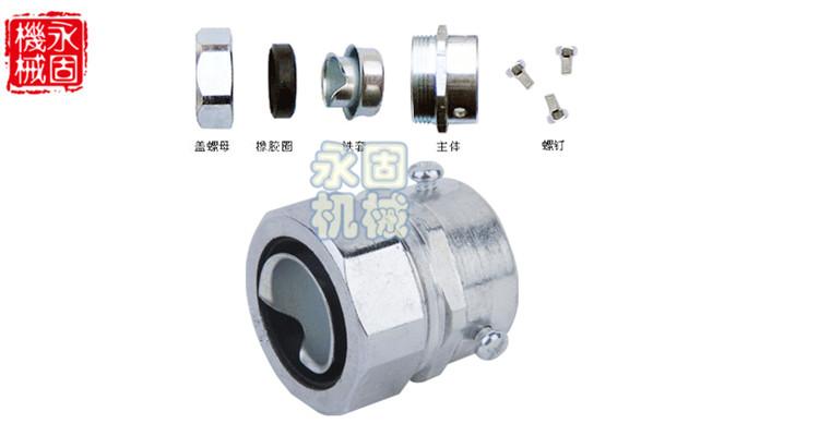 DKJ卡套式金属软管接头产品图片